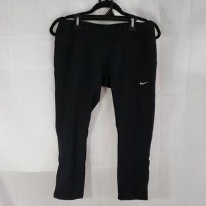 Nike dri-fit cropped leggings size Lg